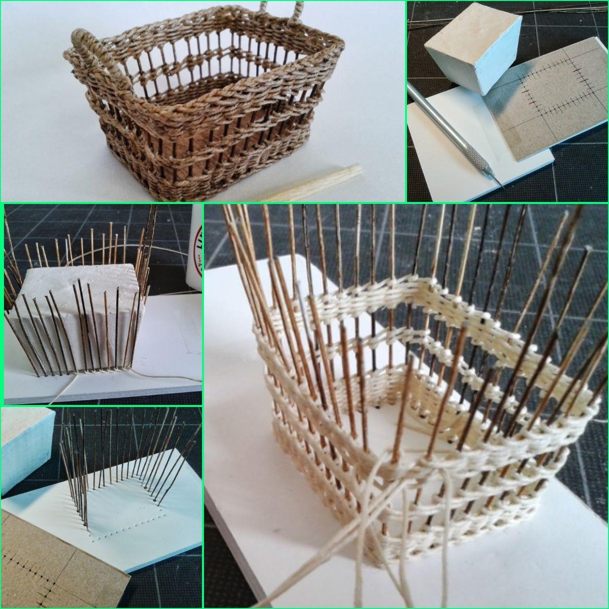 Diy tutorial cesta de papel reciclado proyectos - Cesta de papel de periodico ...