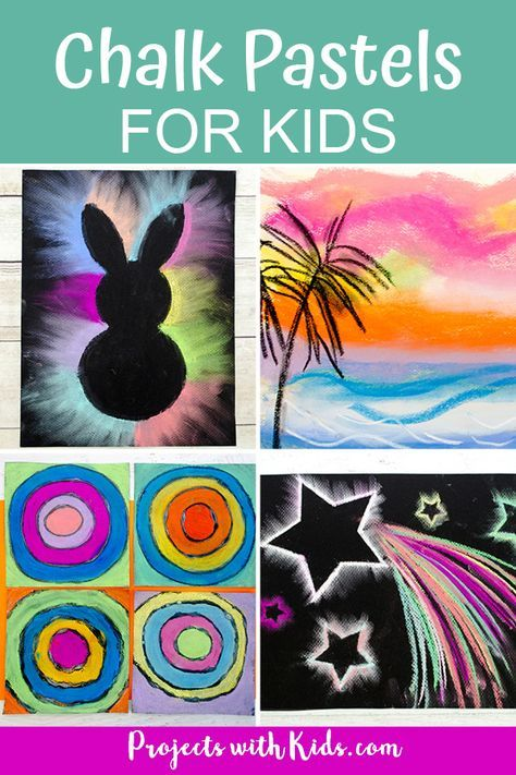 Photo of Awesome Chalk Pastel Art Kids Will Love to Create