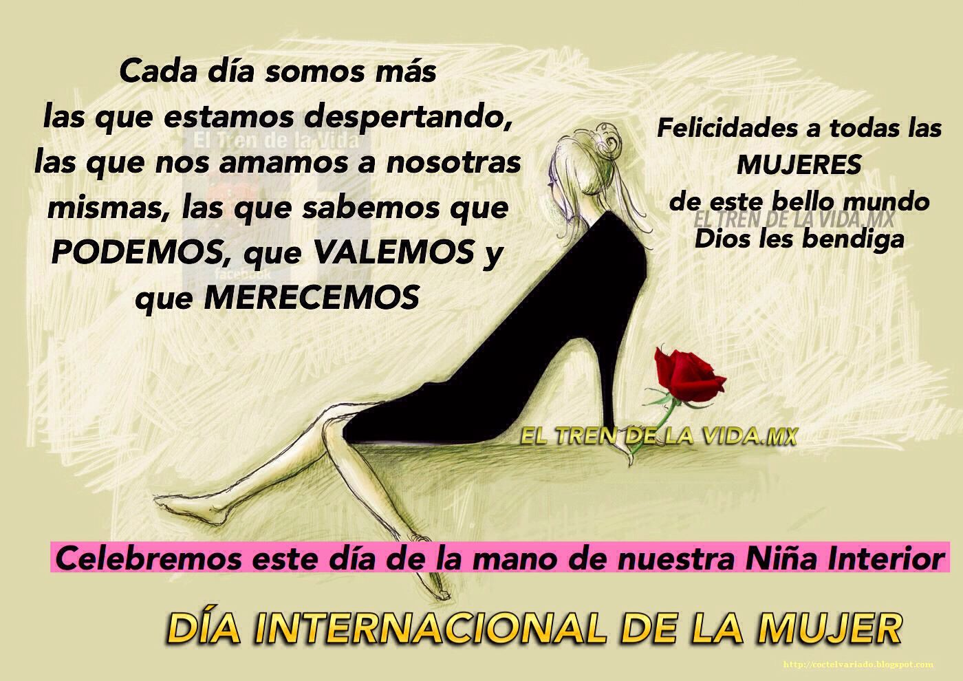 Feliz Día a todas las Mujeres