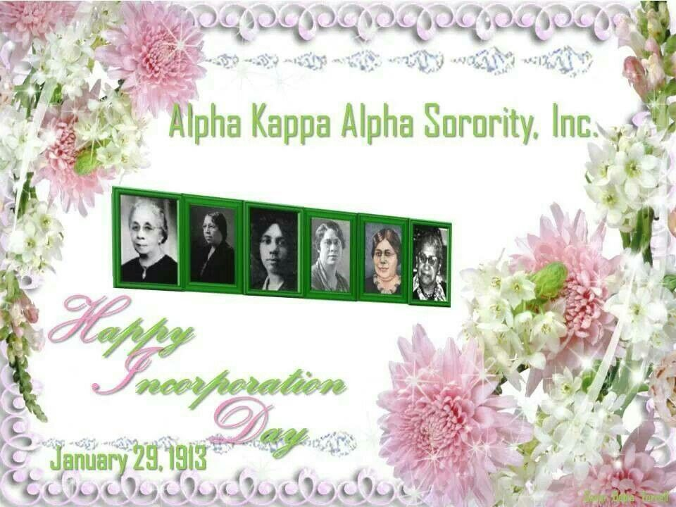 The six Incorporators of Alpha Kappa Alpha Sorority, Incorporated ...