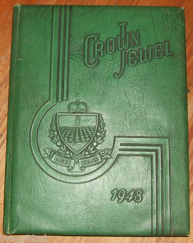 1948 LAKE WALES HIGH SCHOOL Florida YEARBOOK ANNUAL