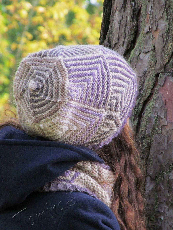 Комплект   Шапки вязаные   Knitted hats, Hats и Knitting