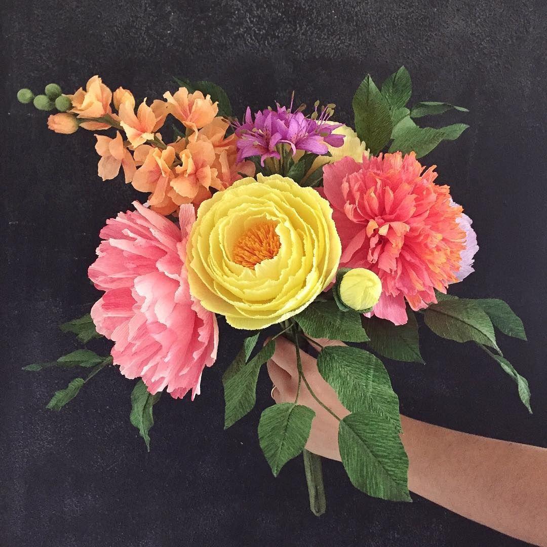 Gorgeous Crepe Paper Flowers By Lemonade Paper Flowers Flowers