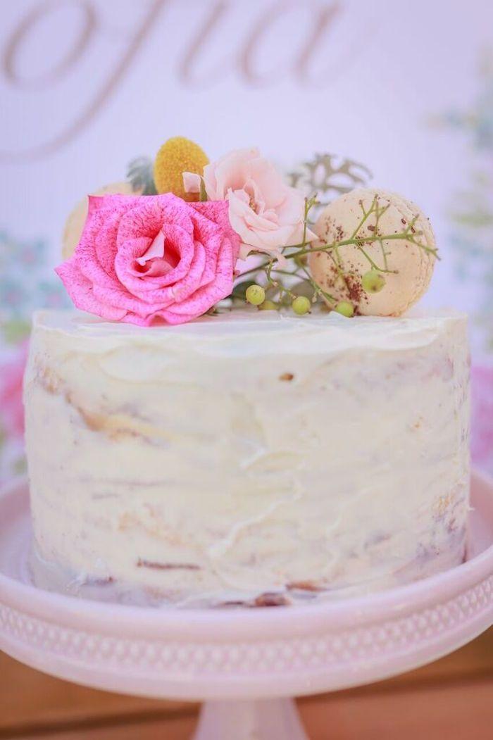 Shabby Chic Bakery Birthday Party Party Ideas Pinterest