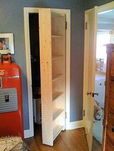 Hidden Pivot Bookcase Installation Thisiscarpentry Bookcase Door Hidden Rooms Secret Rooms