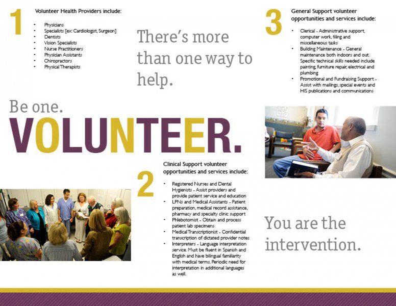 Click To Close Volunteer Brochures Pinterest Brochures