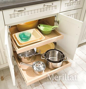Base Roll-Out Tray - Classic™ Accessories - Merillat® cabinetry ...