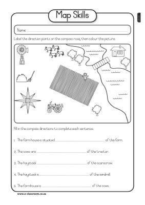 Map Skills2 | Social studies maps, Social studies ...