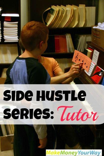 Side hustle: Tutor #sidehustle #tutor http://makemoneyyourway.com/side-hustle-series-tutor/
