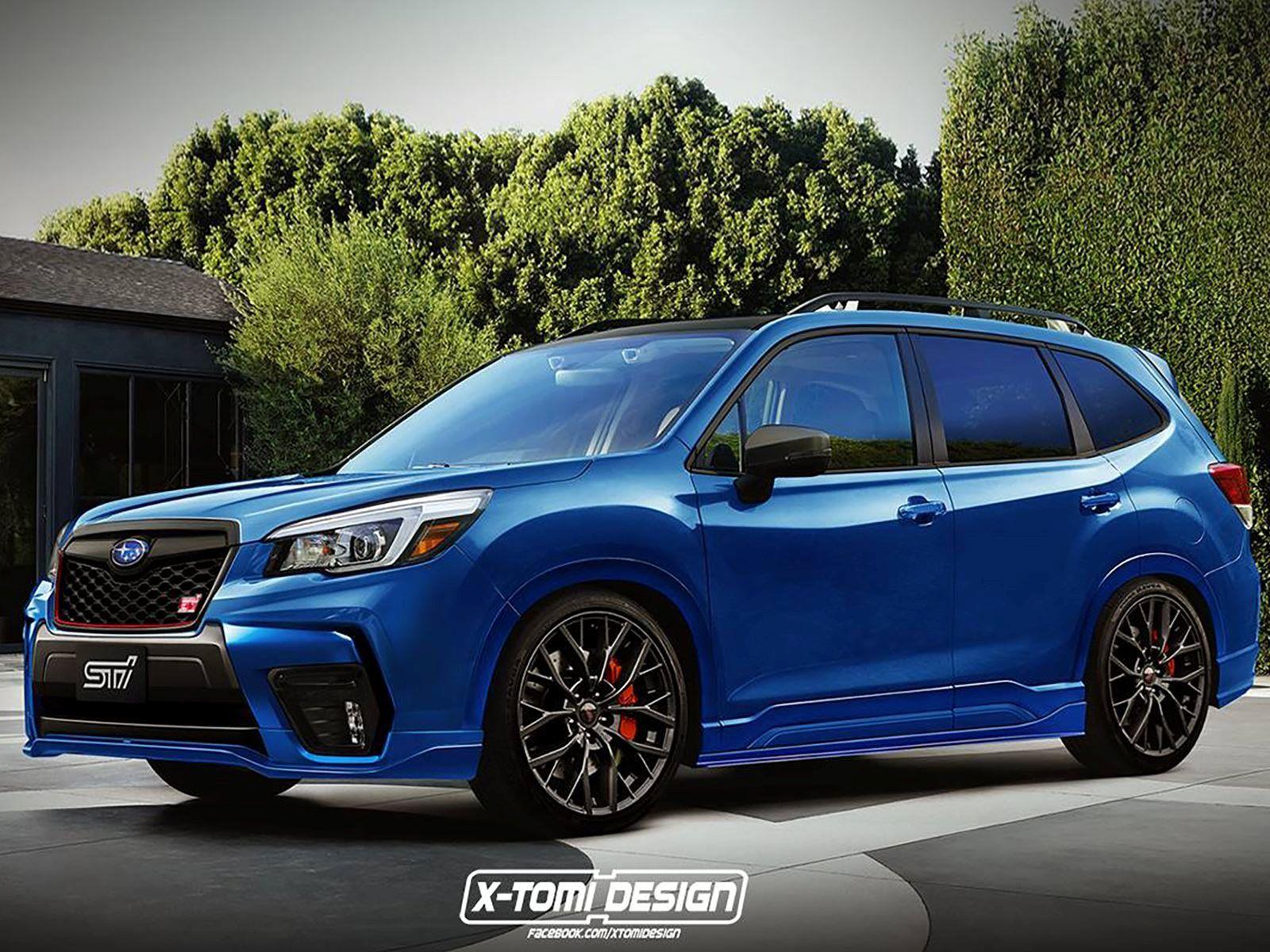 What If Subaru Made A HighPerformance Forester STI