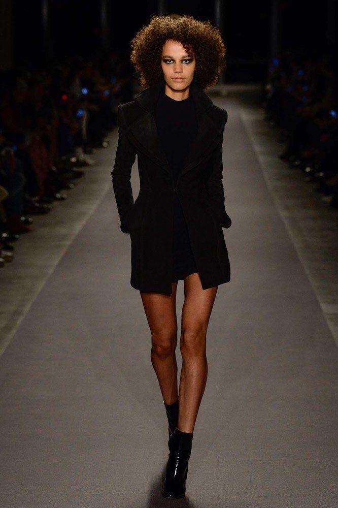 Brandon Maxwell Fall 2017 Ready-to-Wear Fashion Show - Shelby Hayes