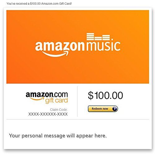 Amazon Gift Card Email Amazon Music Gift Card Amazon Gift Cards Egift Card