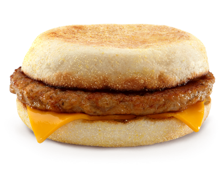 Sausage McMuffin - United States | Mcdonalds | Pinterest ...
