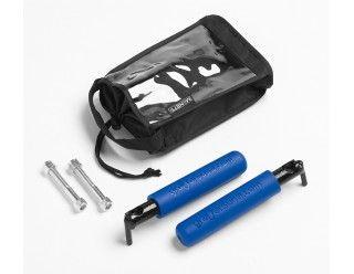 Jk Bootbars Foot Pegs Blue Grips Jeep Accessories Grips Peg