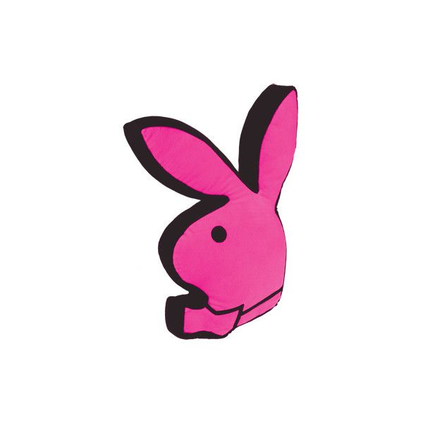 Playboy Bunny Cushion Found On Polyvore Featuring Home
