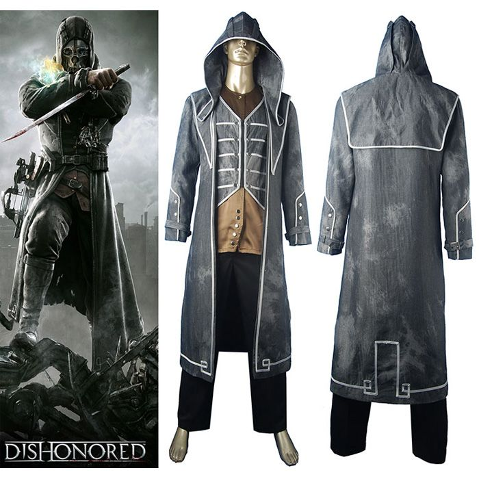 Dishonored Corvo costume Tales from Dunwall Assassin cosplay costume