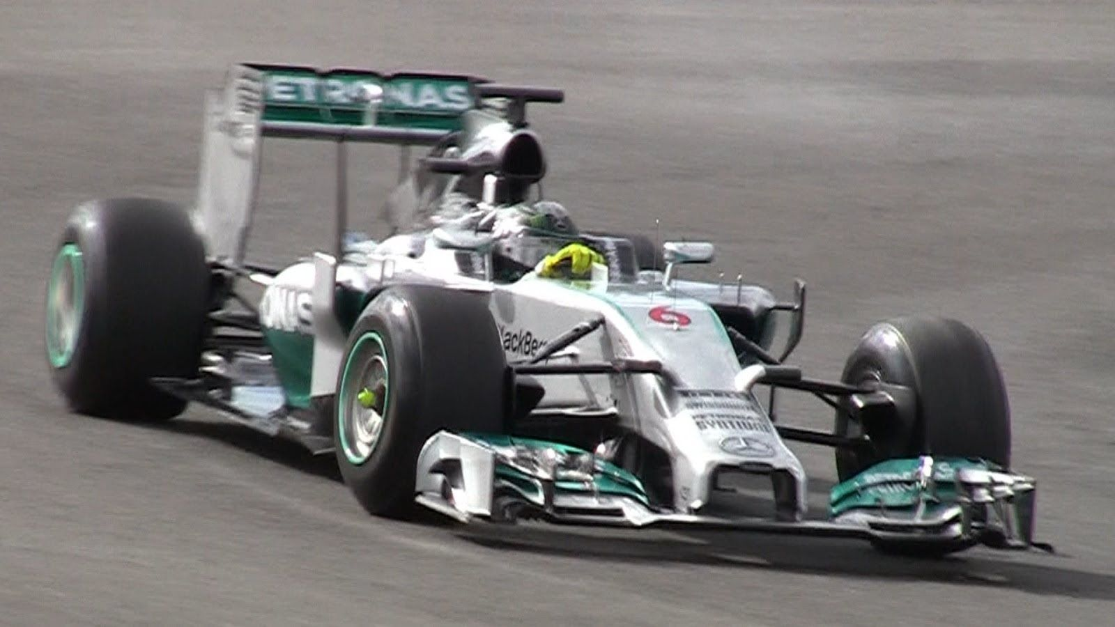 Formula 1 testing 2014 Jerez [HD] pure V6 turbo sound