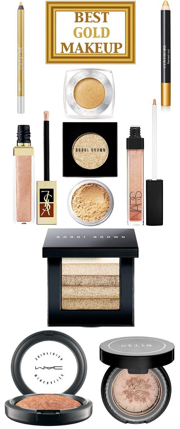 Top 10 Gold Makeup Products. — Beautiful Makeup Search