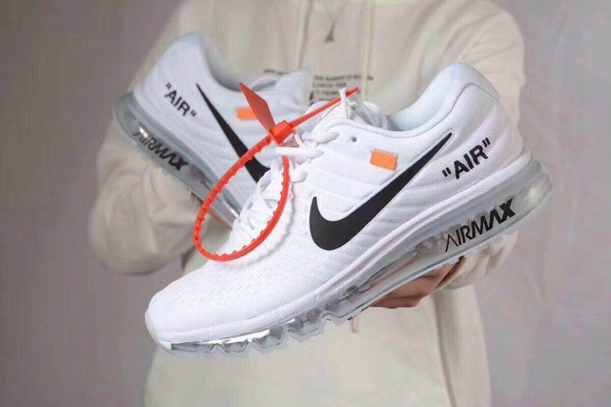 new product 23762 5afcd Nike Air Max 2017 White x Off White