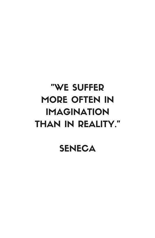 SENECA  Stoic Philosophy Quote - Words of wisdom Framed Art Print by IdeasForArtists