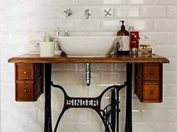 Mobile lavabo bagno fai da te! Love it! <3 | bathroom ideas ...