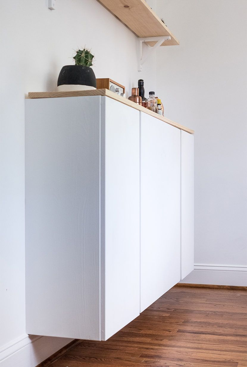 Sideboard Küche Pinterest Diy Ikea Kitchen Cabinet The Fresh Exchange Haus Deko In 2019