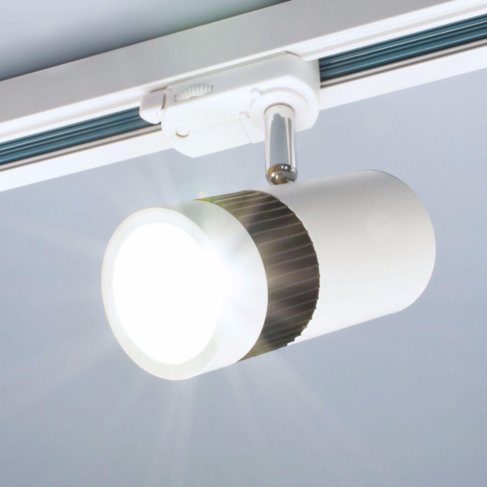 Led Schienensystem Burolicht Spot Strahler Deckenleuchte Tracklight Deckenlampe Ebay Led Schienensystem Deckenlampe Strahler