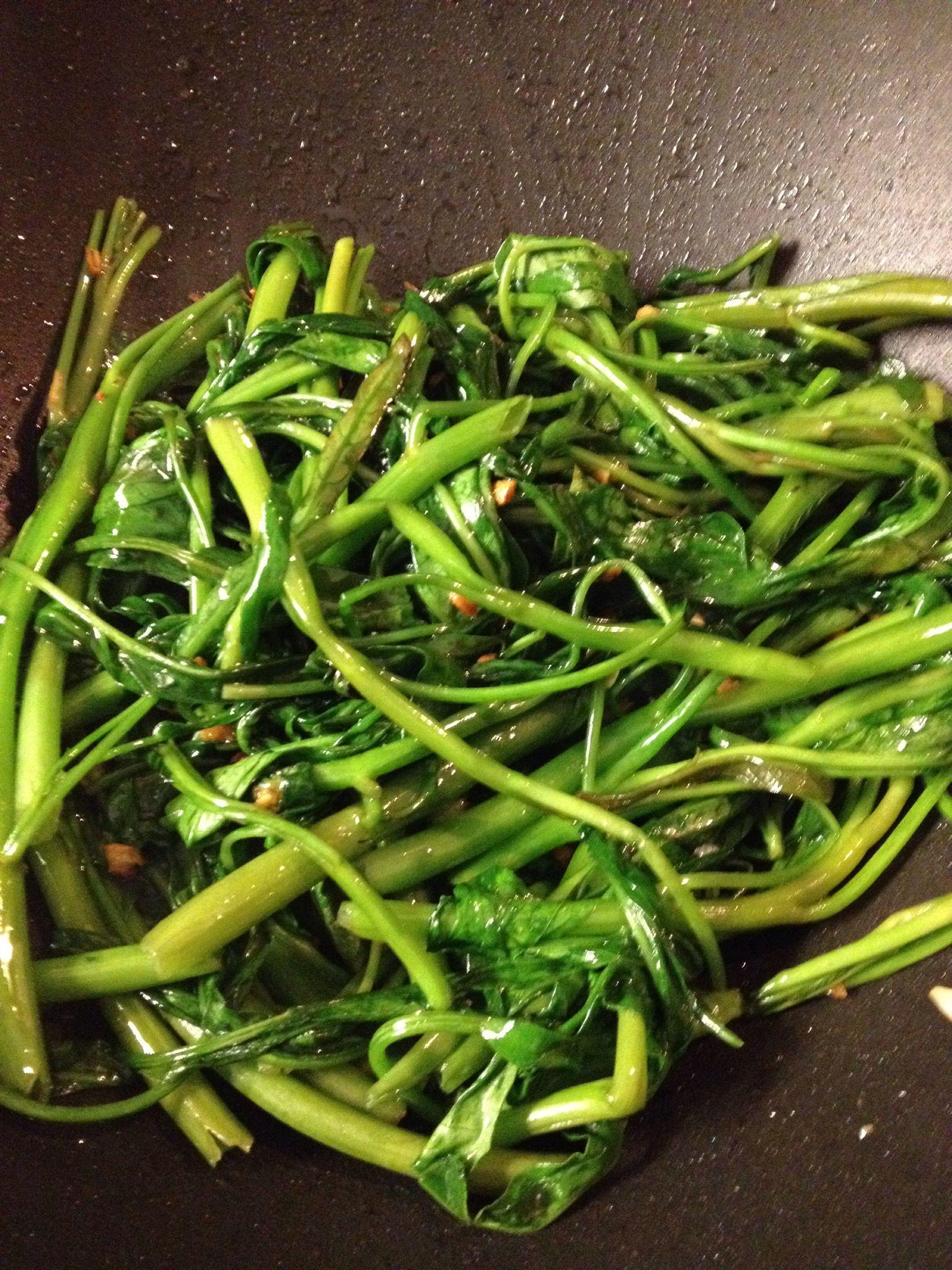 Morning Glory Vegetable : morning, glory, vegetable
