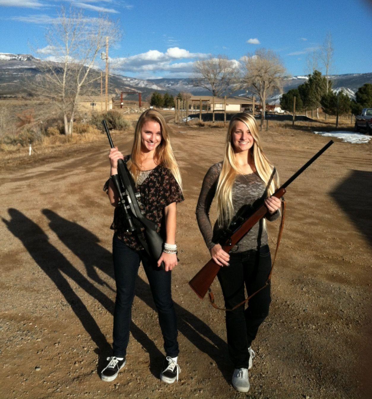 Pin on Girl guns