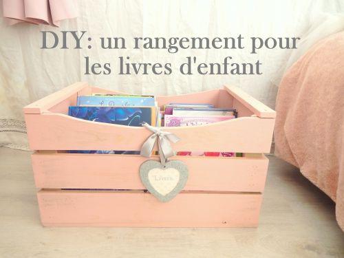 Diy Un Rangement Pour Les Livres Organization Book Www Mon