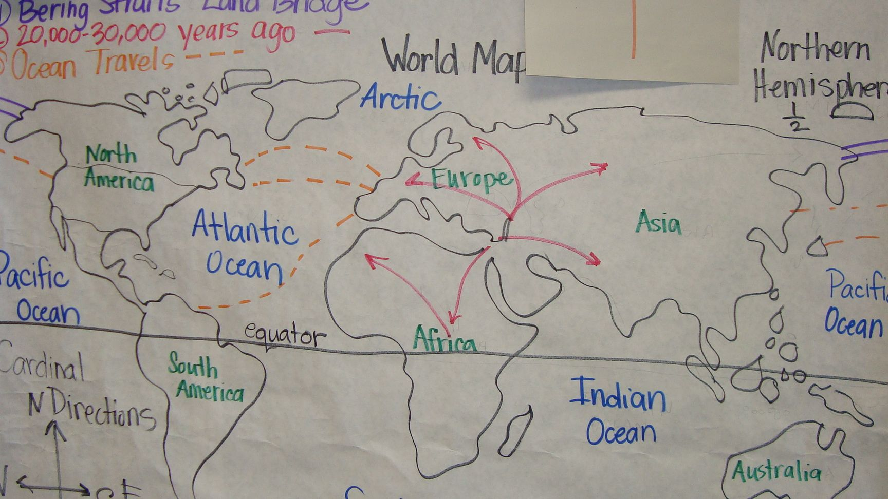 World map graphic organizer after day one glading it up world map graphic organizer after day one gumiabroncs Image collections