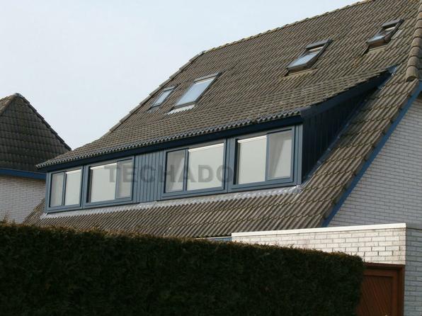 Brede dakkapel Dakkapellen, Bouwbesluit, Bouwtekening