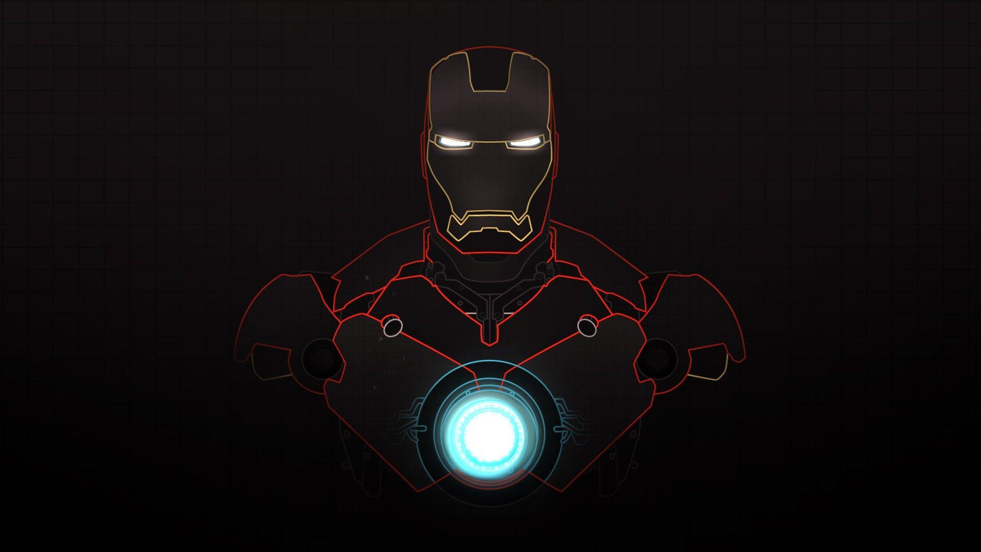Superheroes Minimalistic Hi Res Wallpapers Iron Man Hd Wallpaper Iron Man Wallpaper Man Wallpaper