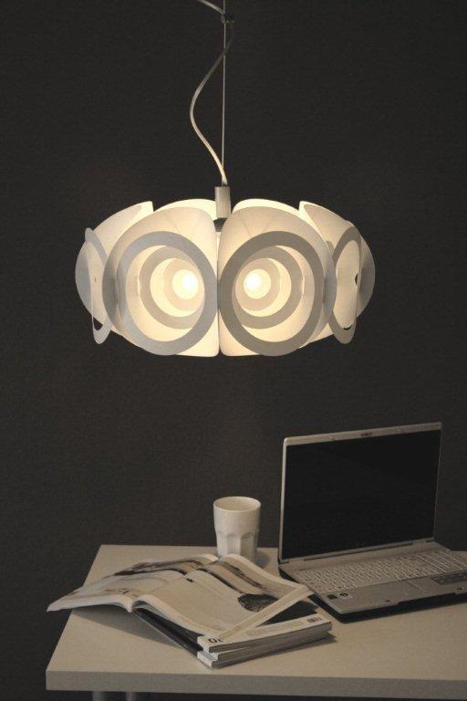Geometrische lampenkap