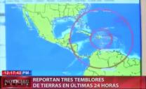 Reportan Tres Temblores De Tierras En Las Ultimas 24 Horas #Video