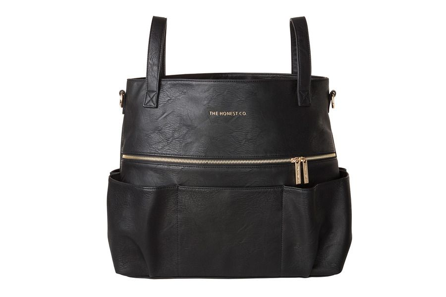 The Honest Company S Stylish Carryall Satchel Made From Sy Vegan Leather Transitions Seamlessly Baby To