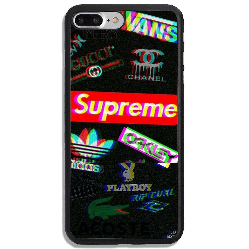 Best!!!Supreme.0245x Logo Brand For iPhone 6 6s 7 8 Plus X