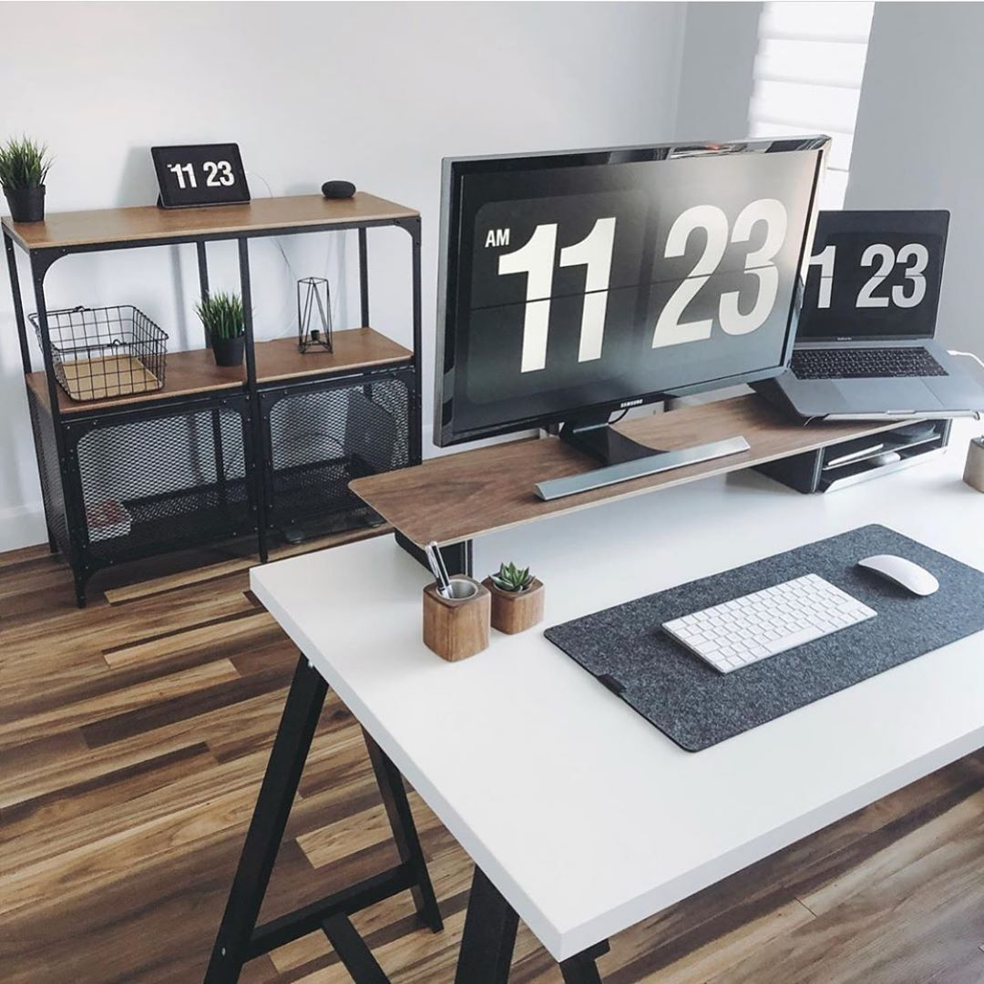 Minimal Setups On Instagram Yanickco Minimalsetups Home Office Setup Office Setup Desk Setup