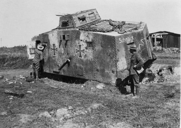 Last of its Kind - Only Remaining German A7V Tank on Display in Queensland  (15 Photos) | World war one, German tanks, Tank