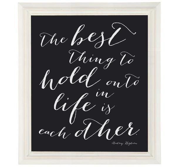 Audrey Hepburn Love Quote Art in 2019 Art prints quotes