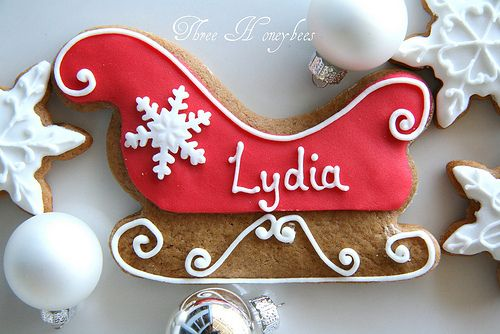 Inspiration Picture of Christmas Cookies ~