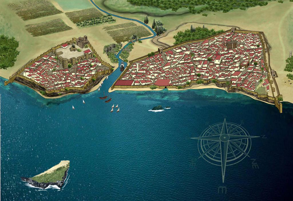 Al Yazirat Recreación 01 Historia De Algeciras Wikipedia La