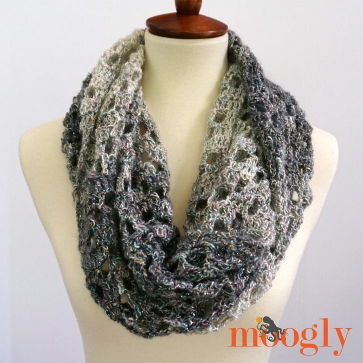 The Opal Arrows Infinity Scarf Is Easy To Make Easy To Wear And