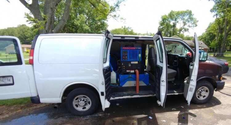 2008 Chevy Express With Prochem Blazer Gt Used Carpet Cleaning Vans Volkswagenltcustom Chevy Express How To Clean Vans How To Clean Carpet