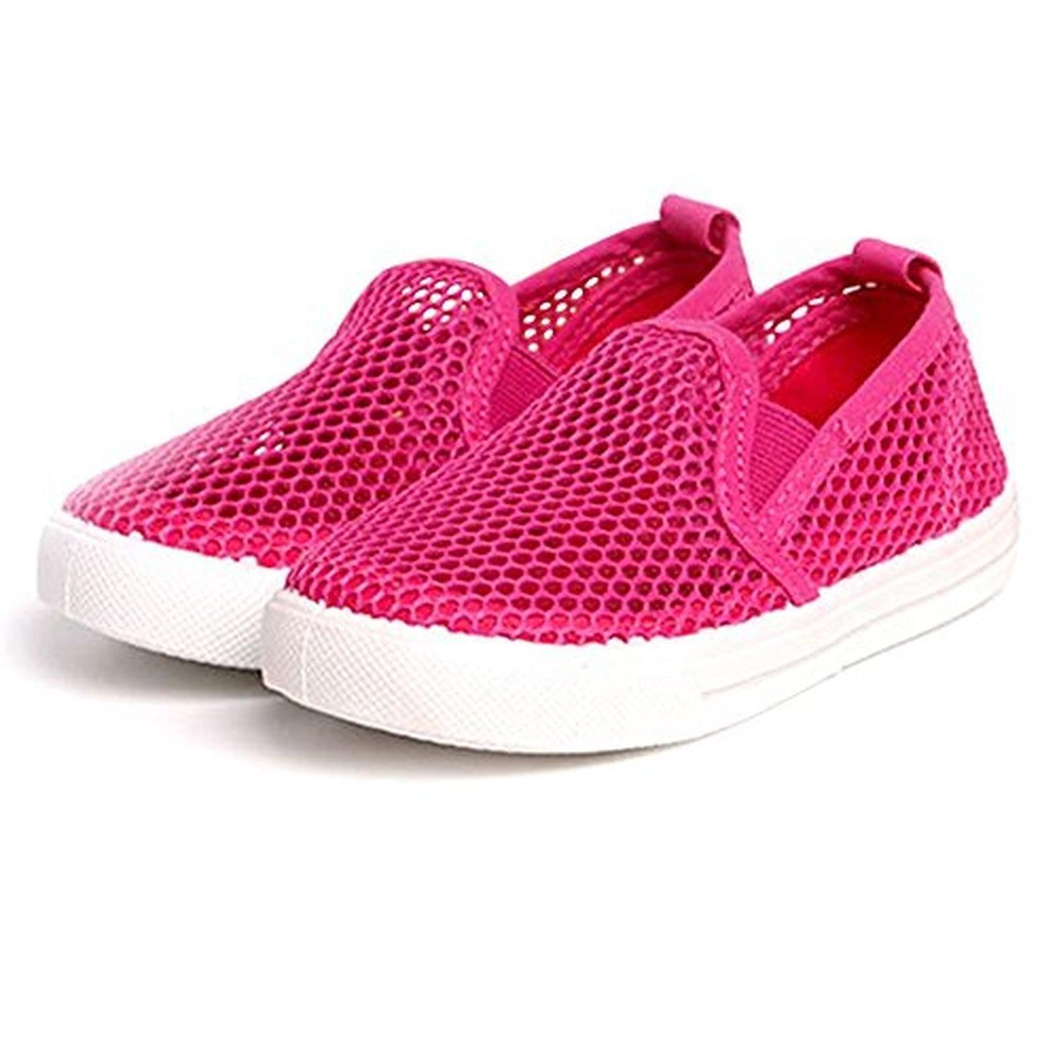 LIVEBOX Breathable Mesh Soft Rubber Sole Summer Seaker Toddler Beach
