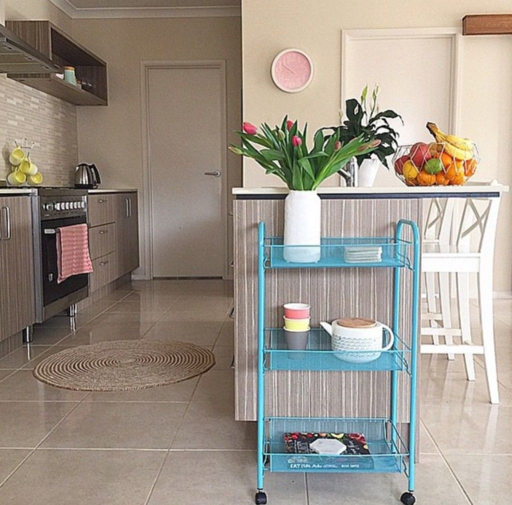 Kmart Homewares Blog Wire Craft Trolley styled by tara louise ...