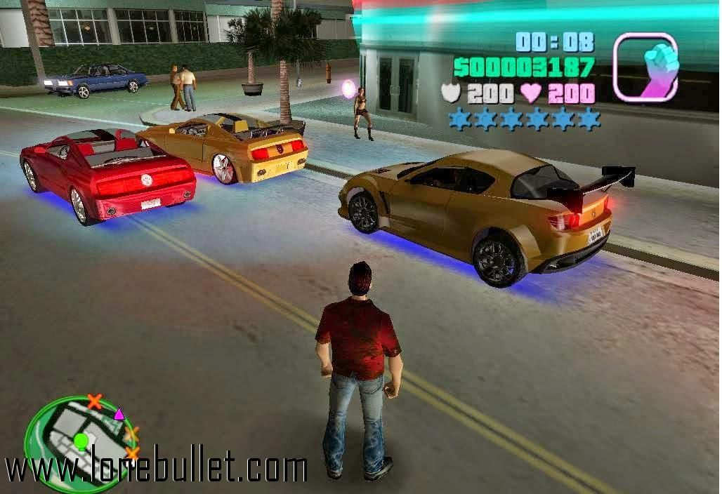 Download Vice City Xxl Mod Mod For The Game Grand Theft Auto Vice City You Can Get It From Lonebullet Http Www Loneb In 2020 City Games Free Pc Games Download Gta