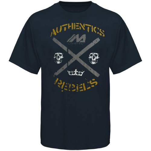 Mma Authentics Fighting Mc T-shirt - Navy Blue