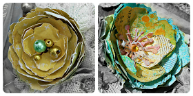 """Swirlydoos Scrapbook Kits: """"Tattered Blooms"""" with Tracey"""
