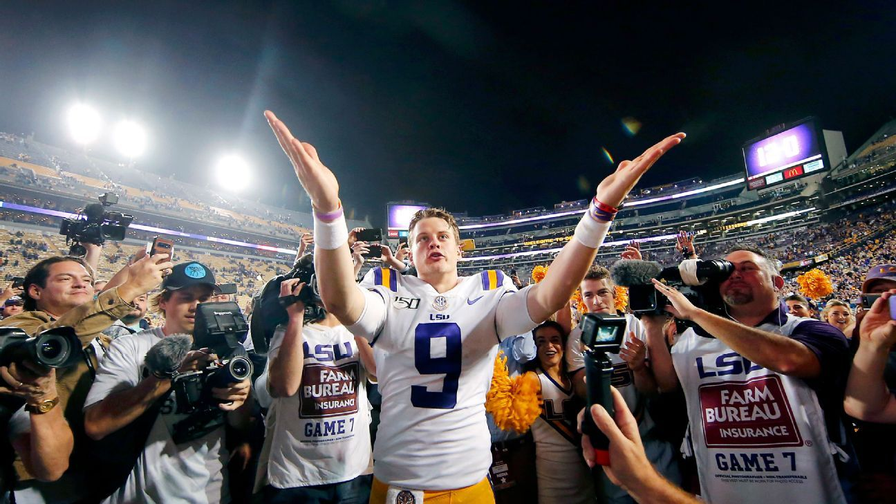 The plays and moments that defined Joe Burrow's race to